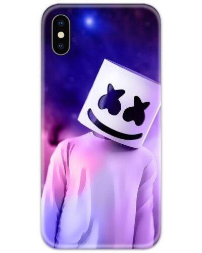 Marshmello Head Slim Case Back Cover