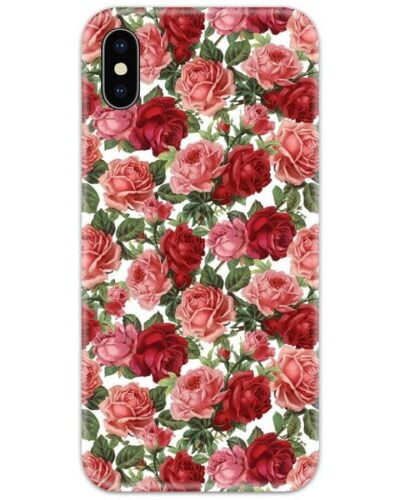 Red Roses Slim Case Back Cover