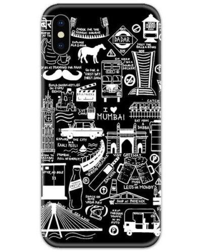 Aamchi Mumbai Art Slim Case Back Cover