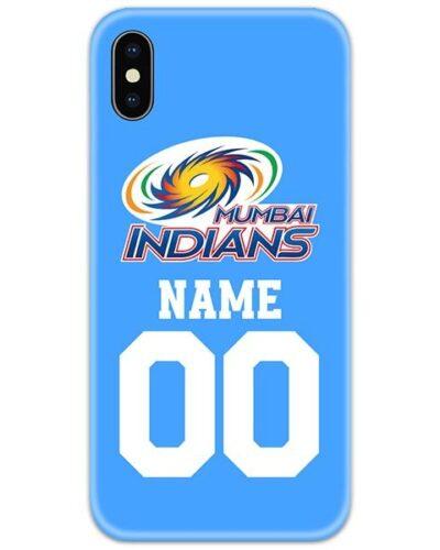 Mumbai Indians IPL Customise Name and Number Case