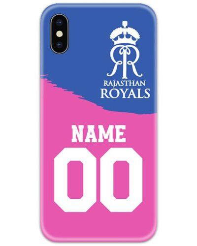 Rajasthan Royals IPL Customise Name and Number