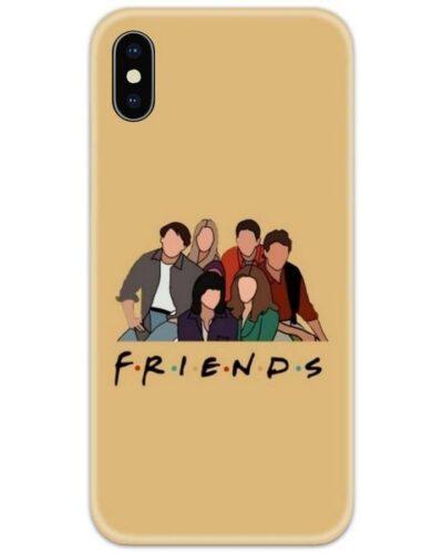 Friends Together Art Slim Case Back Cover