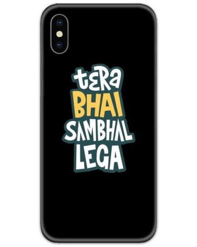 Bhai Sambhal Lega Slim Case Back Cover