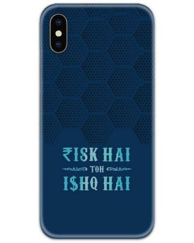 Risk Aur Ishq Slim Case Back Cover
