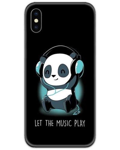 Panda Headphones Slim Case Back Cover