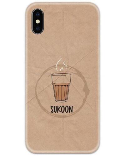 Sukoon Wali Chai Slim Case Back Cover
