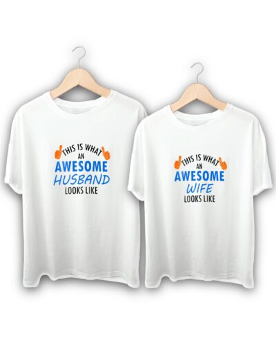 Awesome Couple T-Shirts