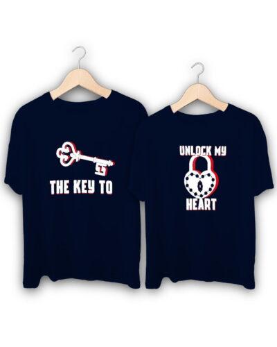 Couple Key Couple T-Shirts