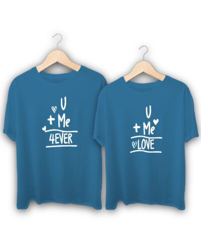 U Me Forever Couple T-Shirts