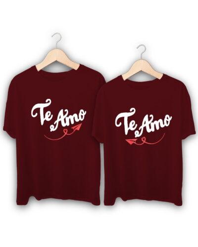 Te Amo Couple T-Shirts