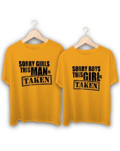 Taken Couple T-Shirts