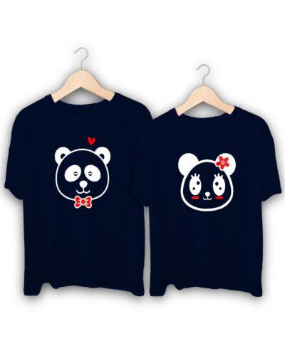 Panda Couple T-Shirts