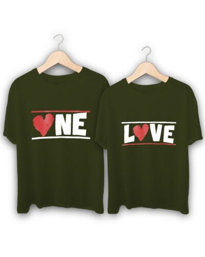 One Love Couple T-Shirts