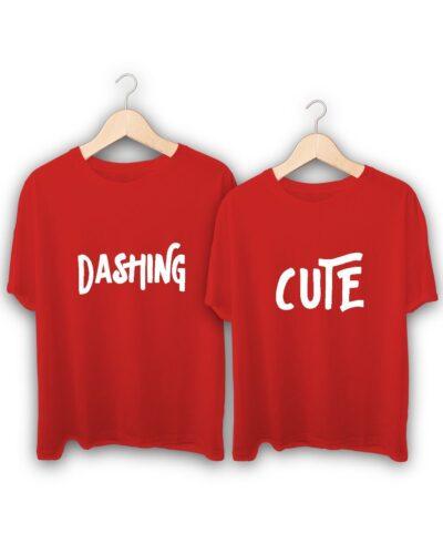 Cute Dashing Couple T-Shirts
