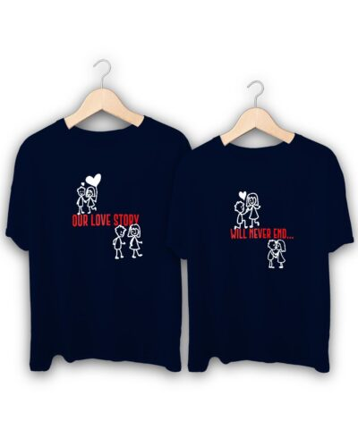 Love Story Couple T-Shirts