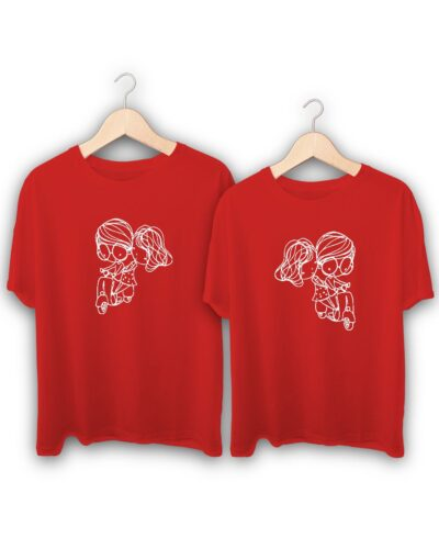 Love Ride Couple T-Shirts