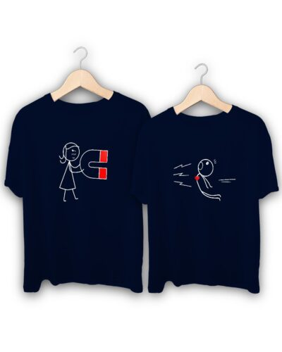 Love Connection Couple T-Shirts