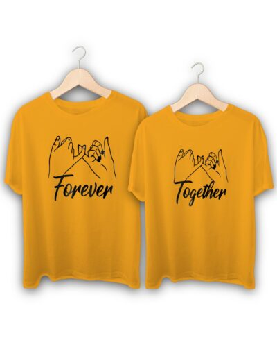 Forever Together Couple T-Shirts