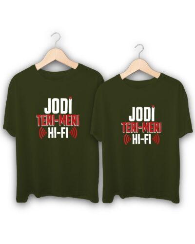 Jodi Hi Fi Couple T-Shirts