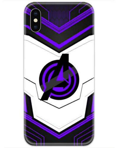 Avengers Suit Purple 4D Case