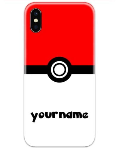 Pokemon Slim Case Cover with Your Name
