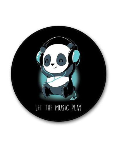 Panda Headphones Popgrip