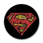 Superman Logo Doodle Popgrip