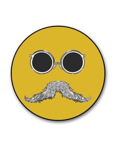 Shady Moustache Popgrip