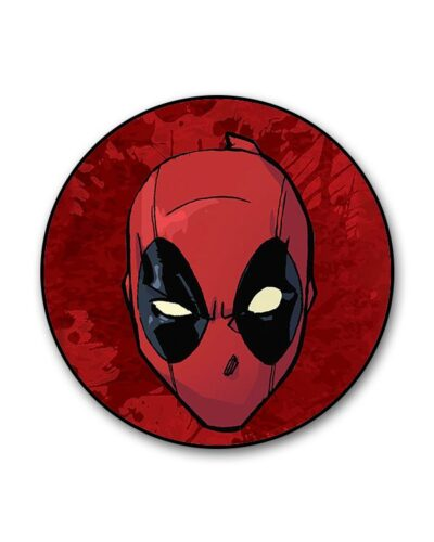 Deadpool Face Splatter Popgrip
