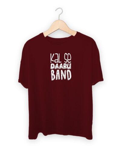 Kal Se Daaru Band T-shirt