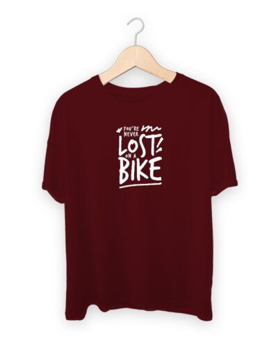 Never Lost On A Bike T-shirt