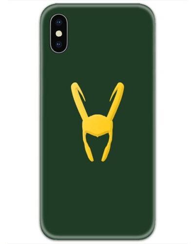 Loki Green Golden Logo 4D Case