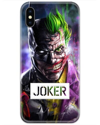 Half Batman Half Joker Logo 4D Case