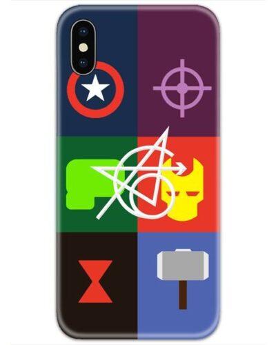 Avenger Original 6 All Logos 4D Case