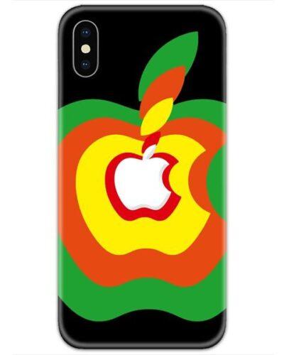 Apple Logo Colorful 4D Case