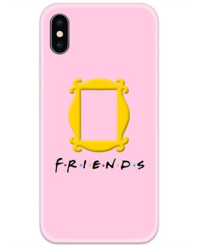 Friends Door Logo Pink 4D Case