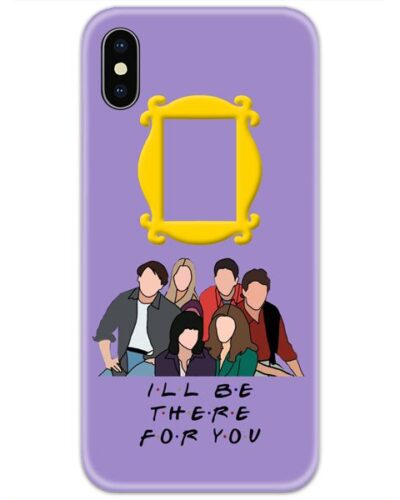 Friends I Will Be There For You Faces 4D Case