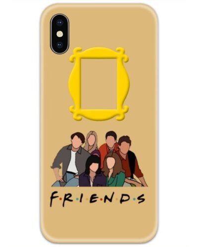Friends All Characters 4D Case