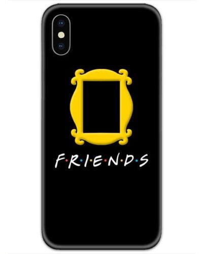 Friends Door Logo Black 4D Case