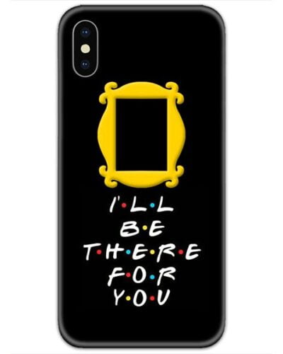Friends I Will Be There For You 4D Case
