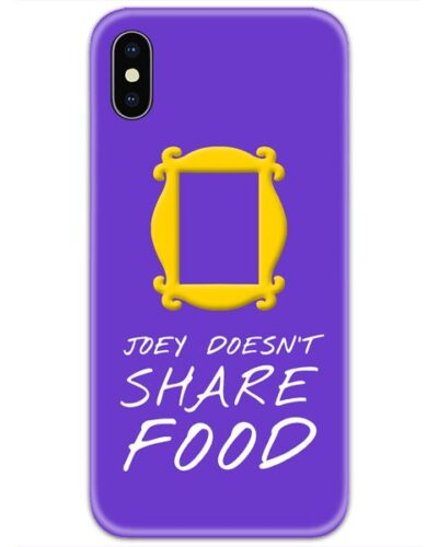 Friends Joey Doesnt Share Food 4D Case