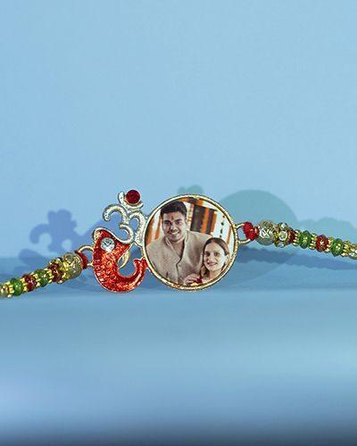 Custom Om Ganesh Rakhi