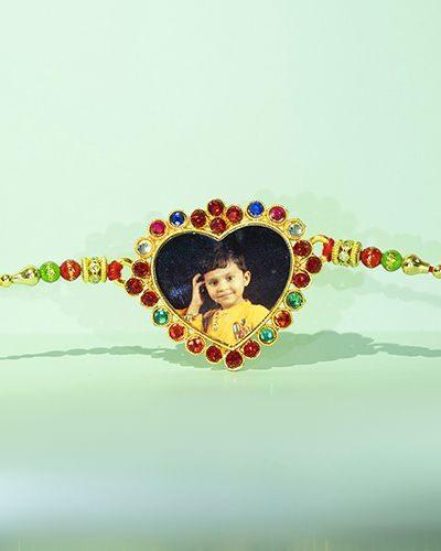 Custom Heart Rakhi