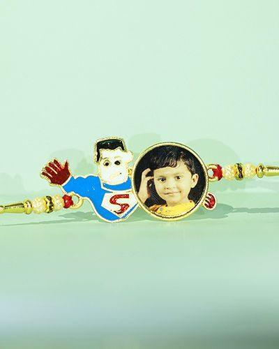 Custom Superman Rakhi
