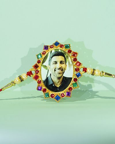Custom Oval Rakhi