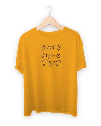 String Panda  T-shirt
