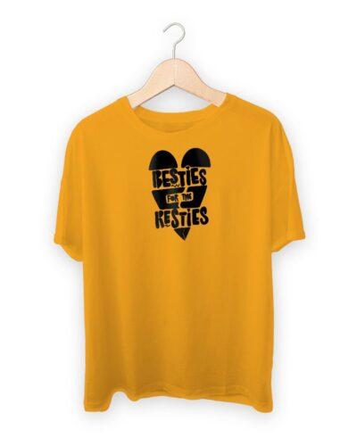 Besties For The Resties Raksha Bandhan Design T-shirt
