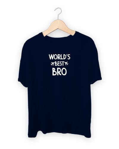 Worlds Best Bro Raksha Bandhan Design T-shirt