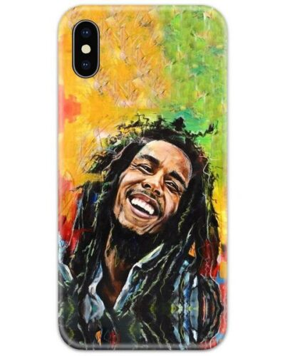 Bob Marley Smile Slim Case Back Cover
