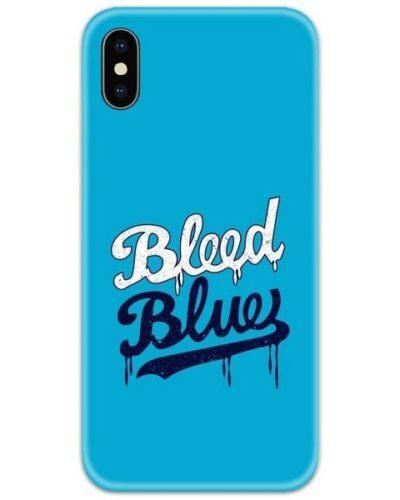 Bleed Blue Slim Case Back Cover